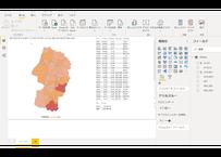 山形県:PowerBI&ローカルHTML向けH31年行政区域TopoJSON