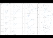 北海道XII系:H31年行政区域地図のオートシェープ図形