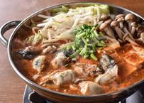 三陸産 牡蠣キムチ鍋セット