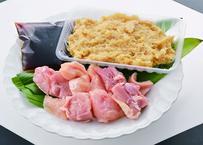鶏だし染み渡る秋川牧園鍋セット/醤油味