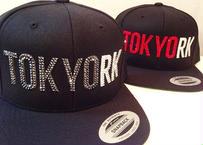TOKYORK custom スナップバックCAP SWAROVSKI