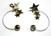 PLANET-normal _ silver pierce / earring