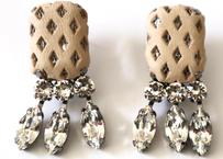 gentleman _  beige pierce / earring