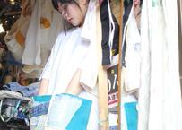 """よせあつめのほつれ愛、Tシャツ """"リボンとポケット"""""""