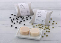 「 素為soap 」【 無添加 】 緑まめの豆乳せっけん・黒まめの豆乳せっけん / 20g × 2個