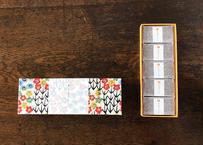 型染め和紙の貼箱(カット5個入)