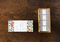 型染め和紙の貼箱(カット8個入)