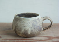 OUTLET品 手びねり丸 コーヒーカップ 焦げ茶