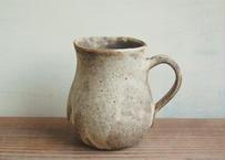 チューリップマグ/花器 焦げ茶