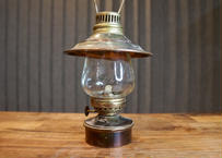 Vintage Brass & Glass Small Lantern