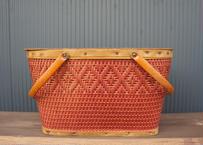 Vintage Hawkeye Picnic Basket Size M