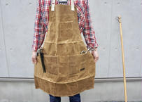 Waxed Canvas Utility Apron (Tan) 20oz