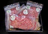 釧路生まれ、釧路育ちのオーガニックビーフ 粗挽きミンチ 200g  4個入り