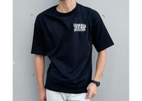 WOW ART COMPANY T-shirt(Black×White)