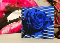 Paint Rose 「夢かなう」- Blue dot