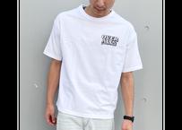 WOW ART COMPANY T -shirt(White×Black)