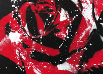 Paint Rose「愛情」 - Red