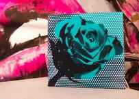 Paint Rose 「希望を持ち得る」- E-green dot