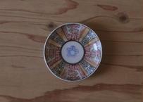色絵の印判小皿