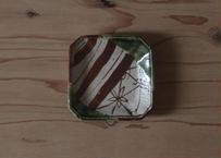 織部の小皿