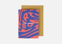 A5サイズメッセージカード / HAPPY RB