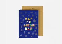 A5サイズ メッセージカード/ HAPPY OR