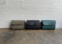 【受注製作】pecoranera限定販売|イタリア製本革三ツ折り財布各色
