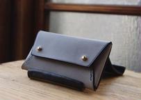 lampan|「tatamiマチ付きコインケース」グレー