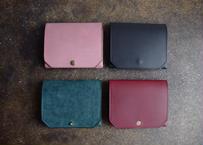 【受注製作】lampan|コンパクト財布〈お札まっすぐ〉