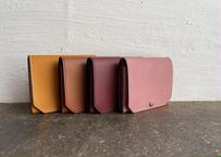 【職人直送】lampan|コンパクト財布〈お札まっすぐ〉4色