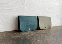 【職人直送】lampan|お札まっすぐ本革財布〈コインたっぷり〉2色