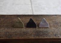 vue.日常のかたち シリーズ 「knitcap」  ブラック/ロジウム