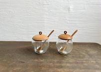 cava  craft/  シュガーポット(スプーン付き)各1点