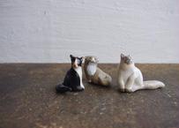 民芸箸枕鶴子|箸置き「 猫さん3種類 その2」