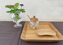 cava  craft|お盆|24.5×24.5cm