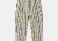 【 Bobo Choses 2020SS 】12001092	Checker Baggy Trousers