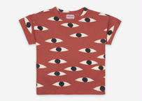 "【 BOBO CHOSES 21SS 】Eyes All Over Short Sleeve T-Shirt(121AC009)""Tシャツ"""