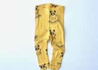 "【 mini rodini 20AW 】Mozart aop leggings(20730127) ""レギンス""  / Yellow"