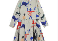 """【 WOLF&RITA 20AW 】DOLORES RABBIT AND MAN """"ワンピース"""" / RABBIT AND MAN / 2-8Y"""