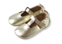 "【 OLD SOLES 20AW】#0018R Ohme-Bub  ""ストラップシューズ"" / GOLD / 12 - 14.5cm"