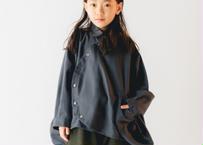 【 nunuforme 20AW 】サークルシャツ [nf14-545-012] / Charcoal