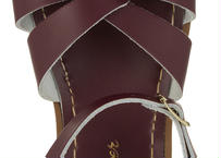 """《新色!》【 Saltwater Sandals 20SS】 海でも履けるソルトウォーターサンダル  """"Swimmer""""  / クラレット / 20 - 22.5cm"""