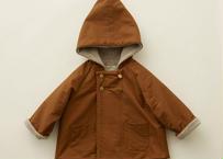 """【 eLfinFolk 20AW 】elf coat(elf-202F47)""""コート"""" / brown  / size 110-130"""