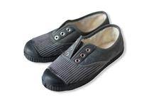 【 La Cadena 20AW 】 INGLES PARTIDO ELA Y.P. CLASSIC SLIP-ON / GREY × BLACK SOLE / 15〜16.5cm