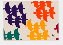 【 Bobo Choses 2020SS 】12070011Flying Birds Rug
