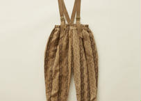 "【 eLfinFolk 20AW 】castle printed pants(elf-202F06)""パンツ"" / beige  / size 80 - 100"