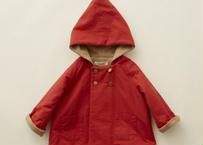 "【 eLfinFolk 20AW 】elf coat(elf-202F47)""コート""/ red / size 90-100"