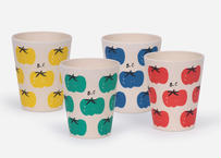 "【 BOBO CHOSES 21SS 】Tomatoes Pack Of Bamboo Glasses(121AU007)""コップ"""