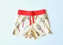 """【 mini rodini 2020SS 】Tennis aop shorts(20230141) """"ショーツ"""""""