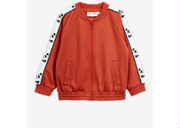 【 mini rodini 2020SS PRE 】Panda wct jacket(20120151) / Red